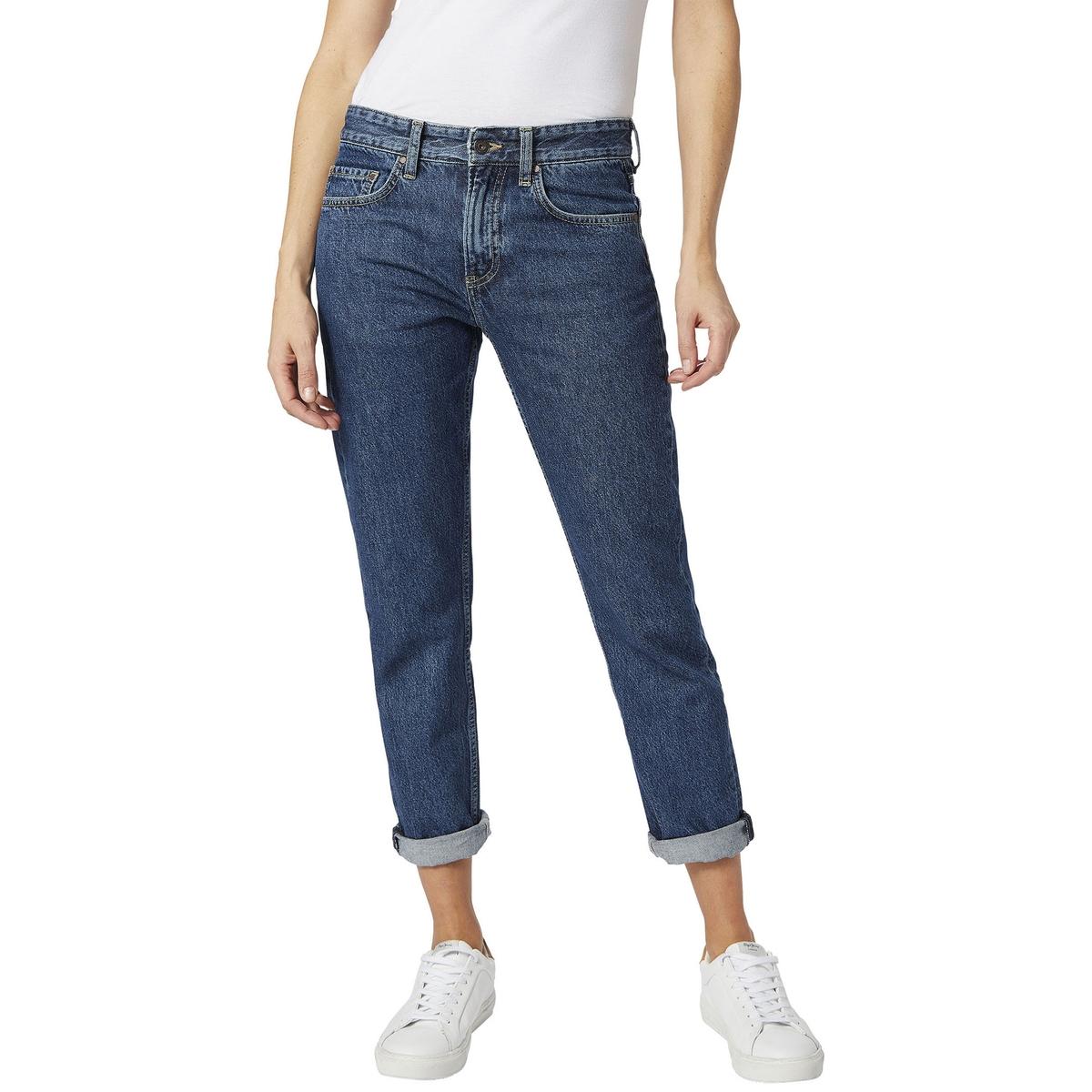 Джинсы бойфренд MABLE pepe jeans фактурные джинсы