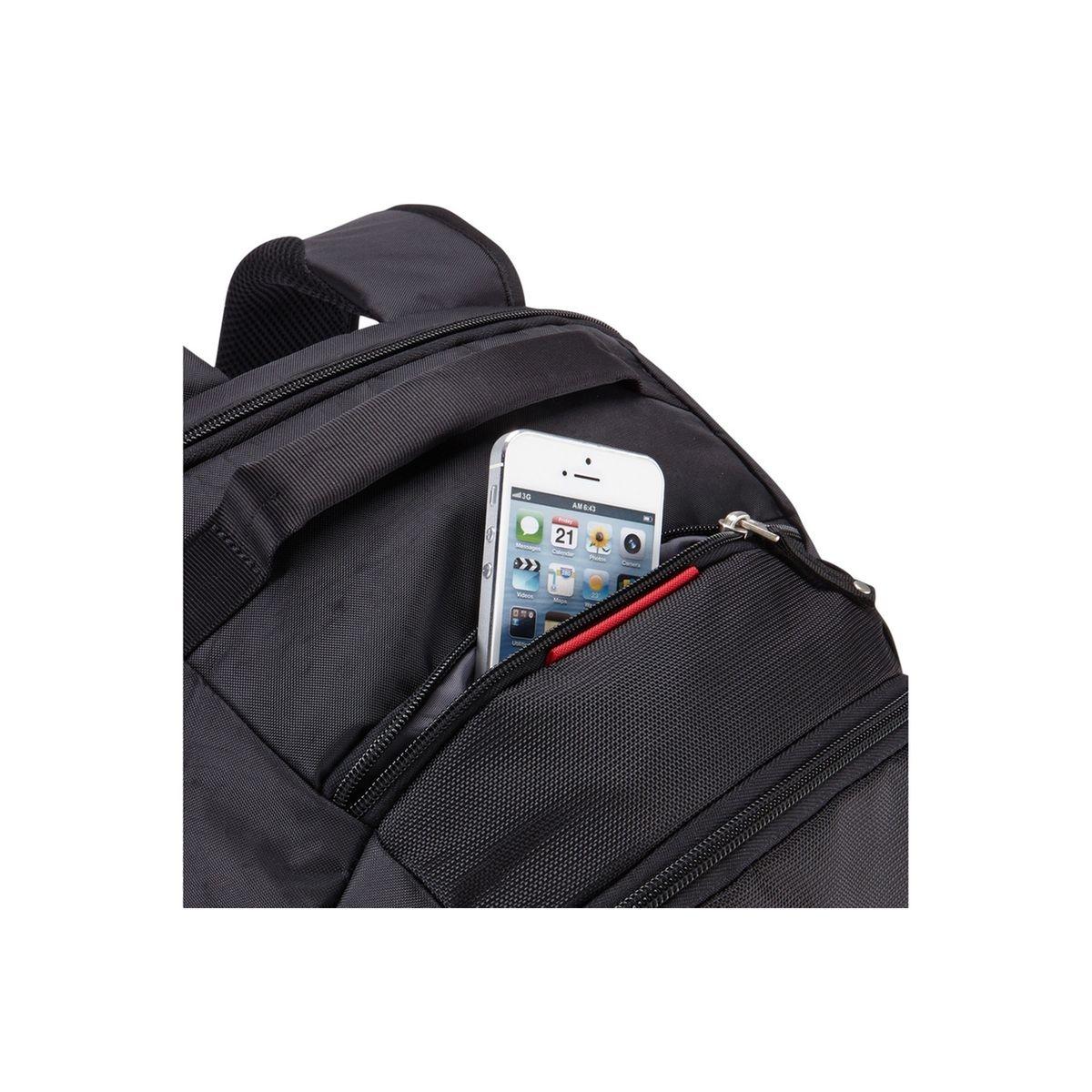 Sacoche pour ordinateur portable Sac à dos Evolution noir pour ordinateur portable 15,6''