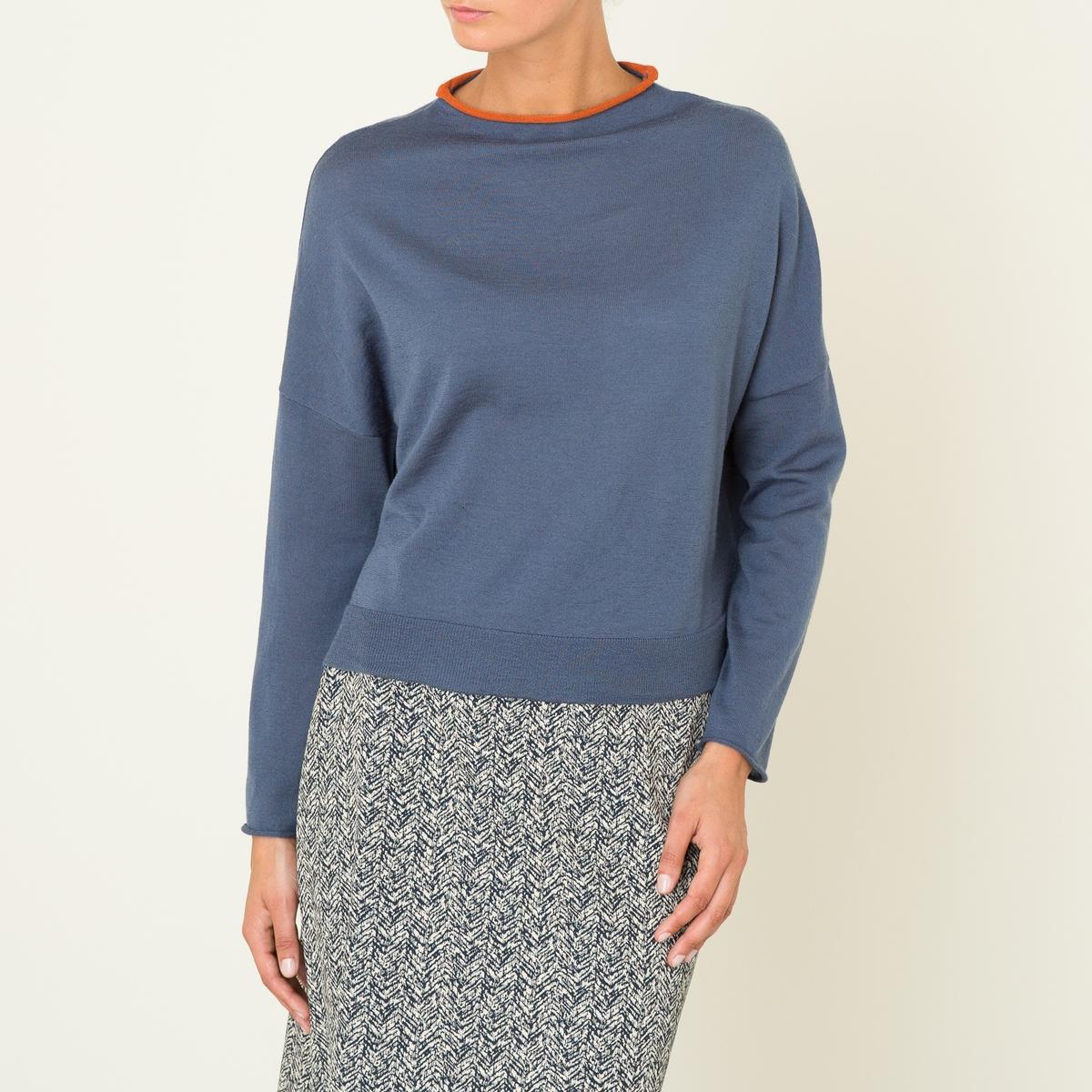 Пуловер короткий от La Redoute