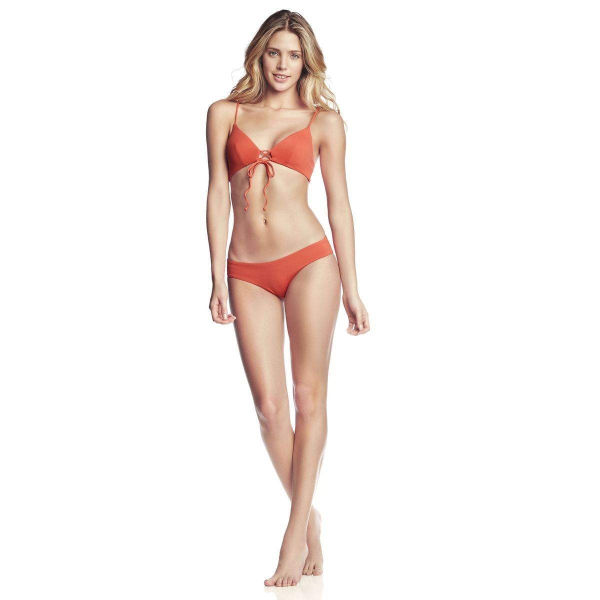 Bas de Bikini Culotte  Orange - Mandarin Sublime