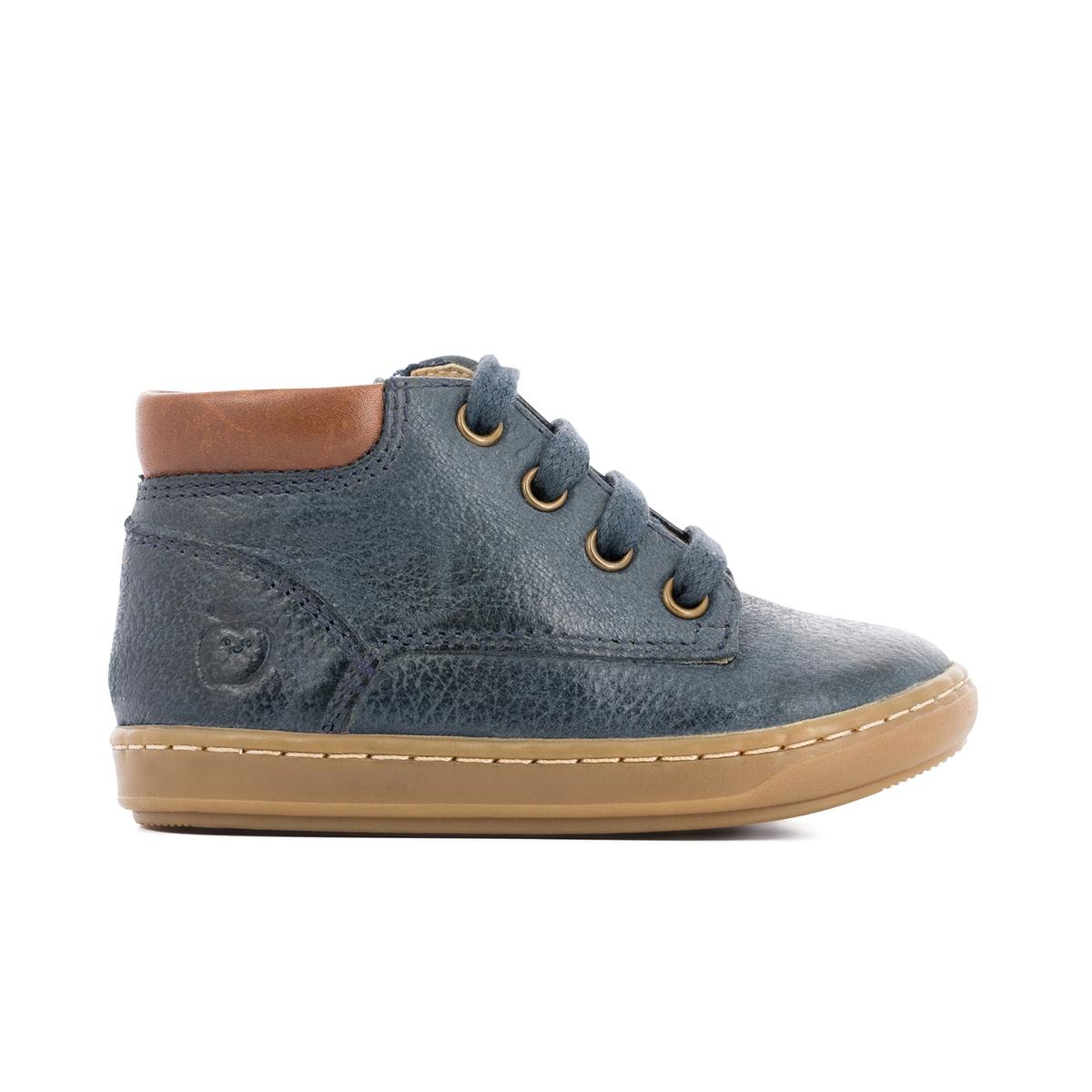 Кеды высокие кожаные BOUBA ZIP DESERTДетали  •  Кеды высокие •  Спортивный стиль •  Плоский каблук •  Высота каблука : 0 см •  Застежка : шнуровкаСостав и уход  •  Верх 100% нубук •  Подкладка 100% кожа •  Стелька 100% кожа •  Подошва 100% каучук<br><br>Цвет: темно-синий