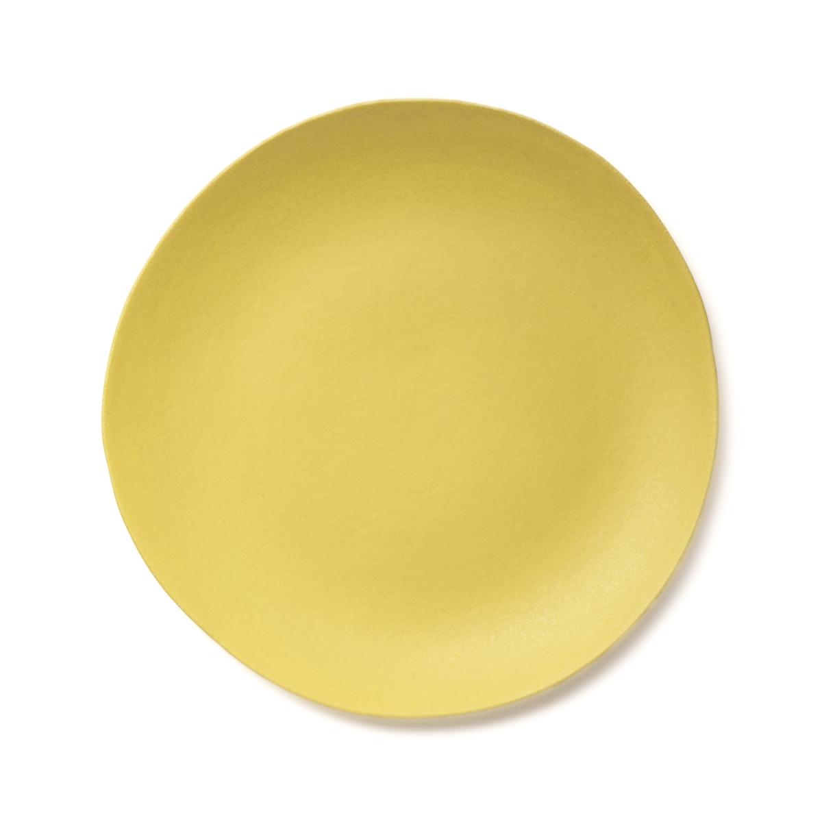 Тарелка La Redoute Десертная из керамики покрытой глазурью Aoki единый размер желтый тарелка la redoute плоская из керамики sanna единый размер каштановый