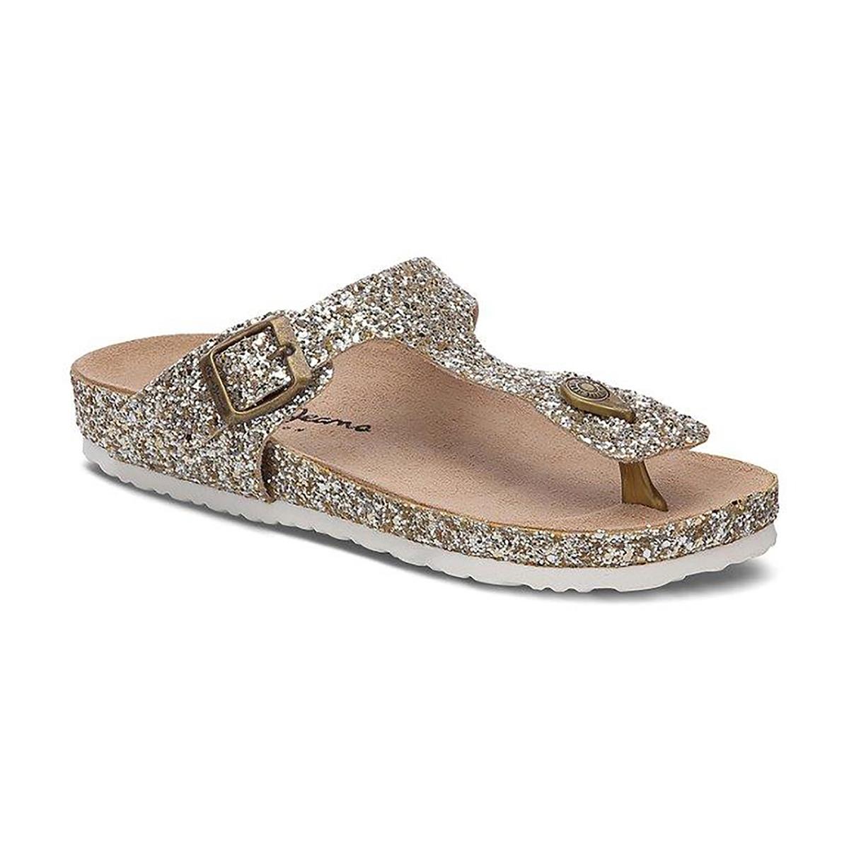 Туфли без задника с блестками Oban