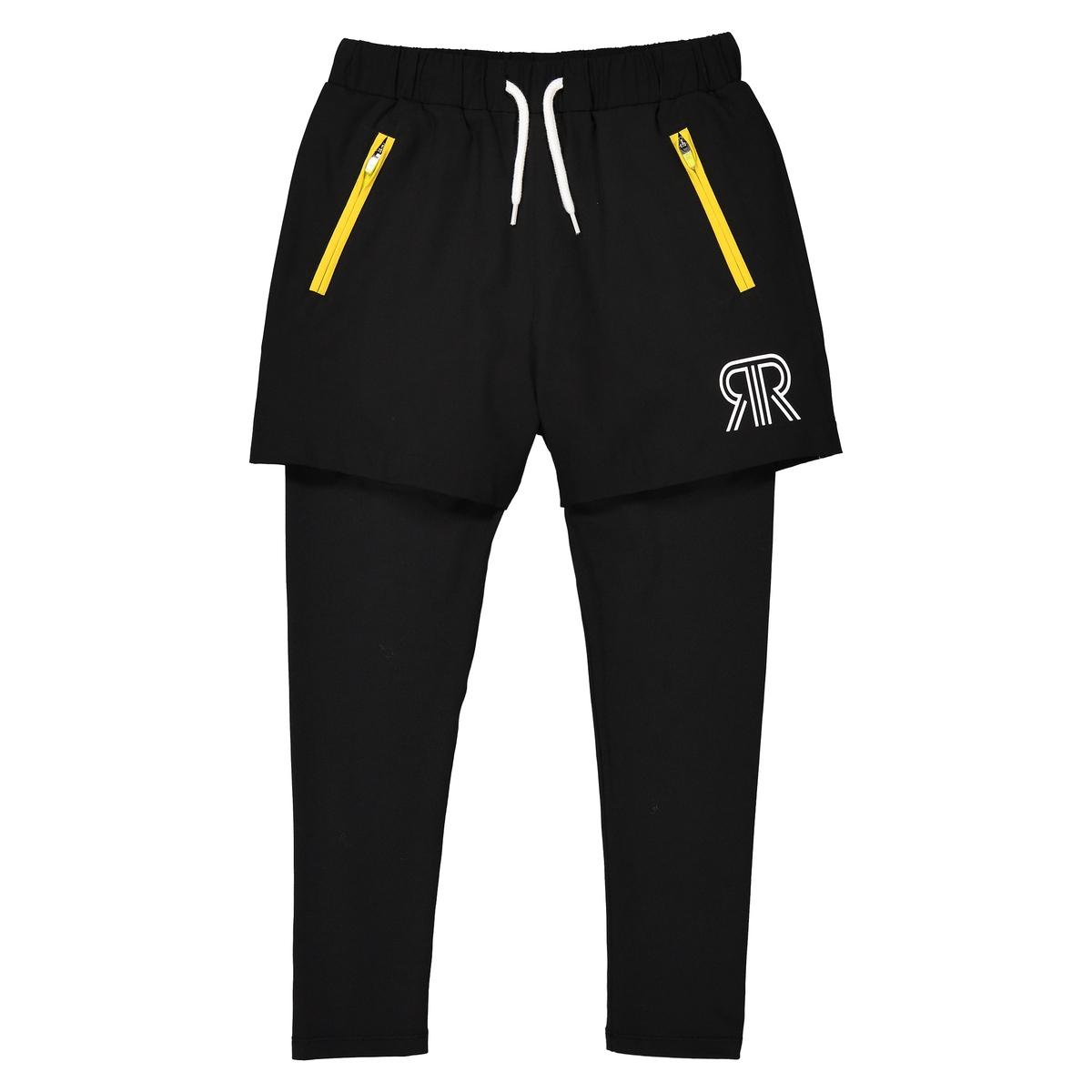 Completo shorts + leggings sportivo 3 - 12 anni