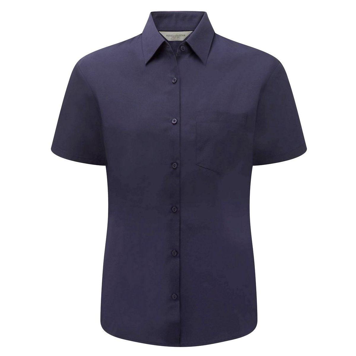 Lot de 2 chemisettes manches courtes popeline