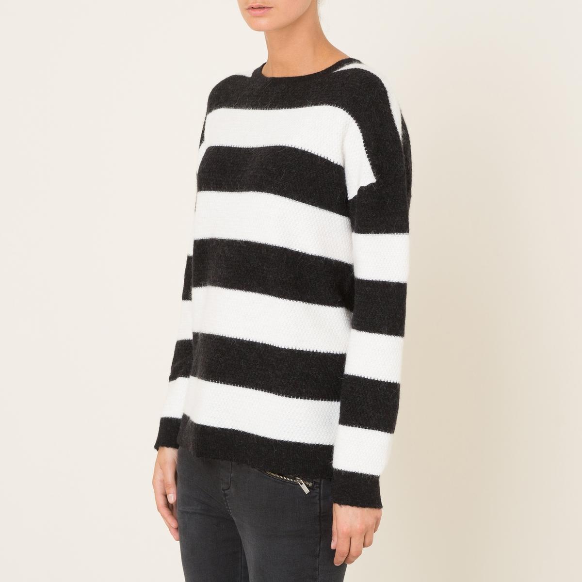 Пуловер в полоску the kooples шорты для плавания