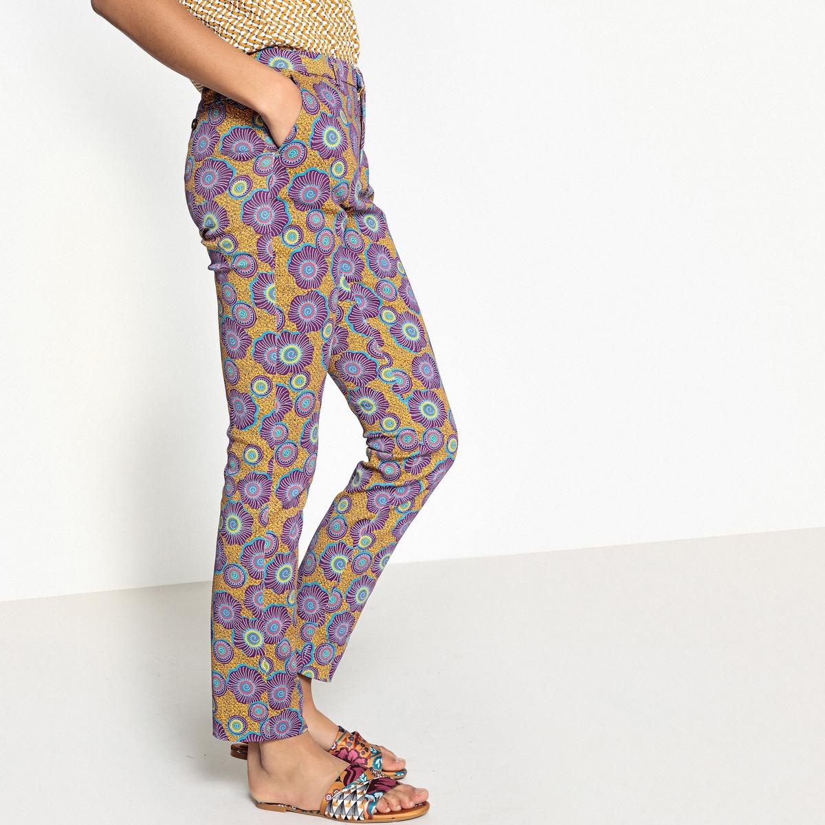 Брюки дудочки с рисунком брюки дудочки quelle laura scott 331207