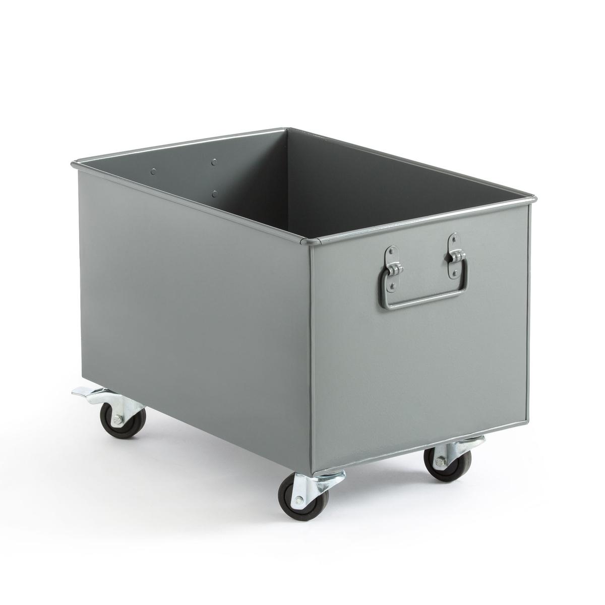 Ящик La Redoute На колесиках Hiba единый размер серый этажерка la redoute на колсиках hiba единый размер бежевый