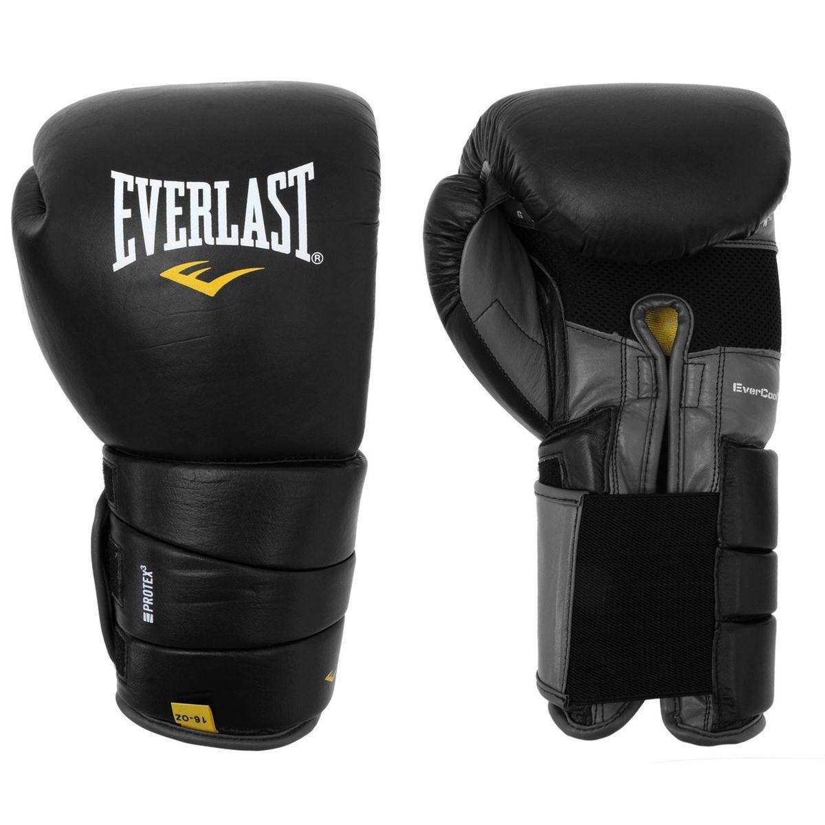 Cuir Pro 3 Gants de boxe