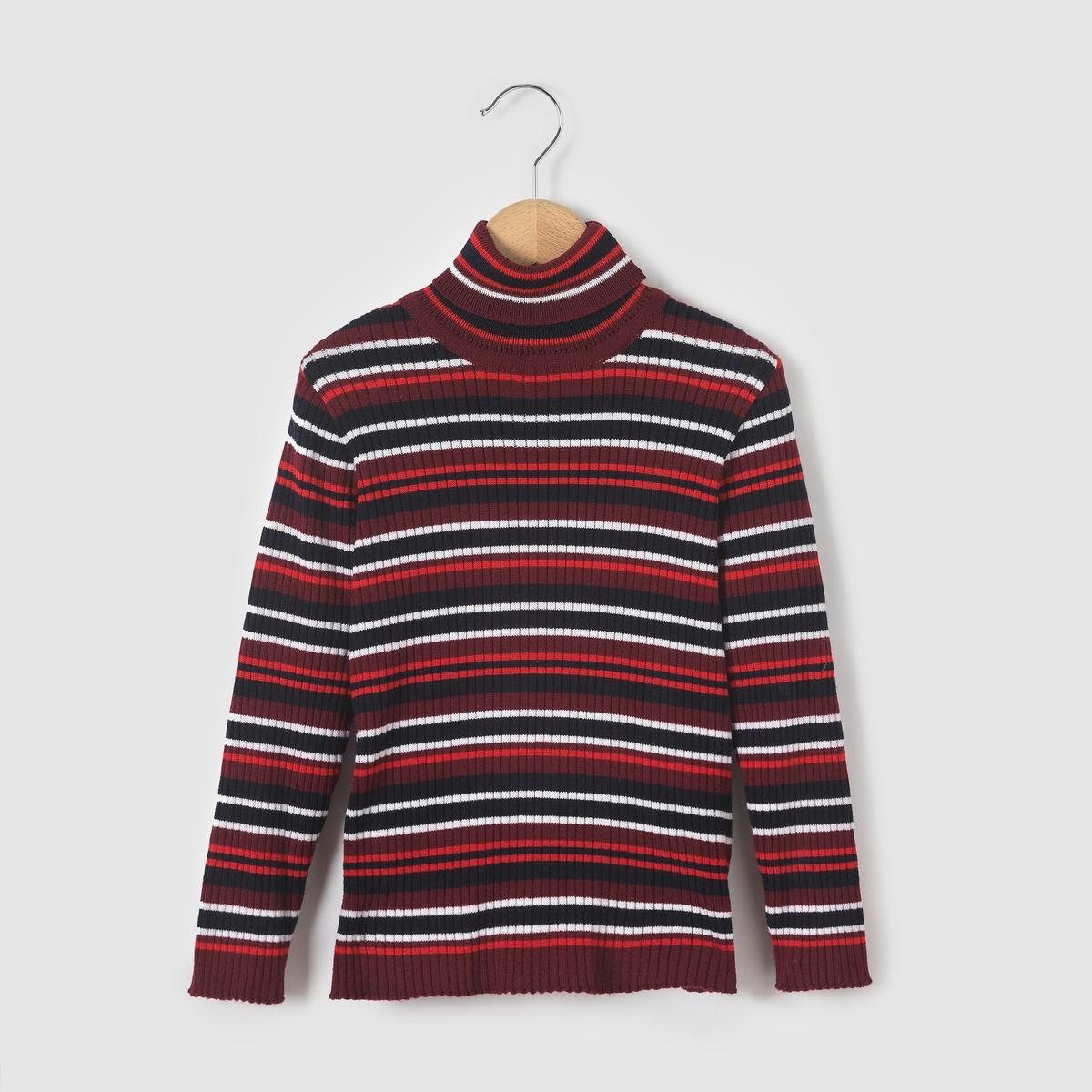 Пуловер с отворачивающимся воротником из шерсти COLLECTOR 3-12 лет