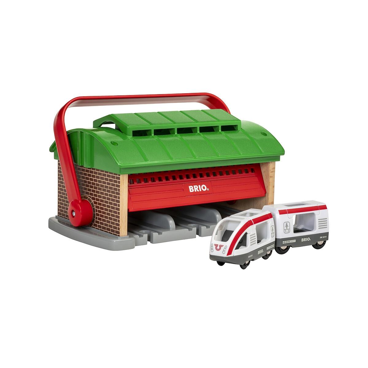 An image of Brio Portable Train Garage