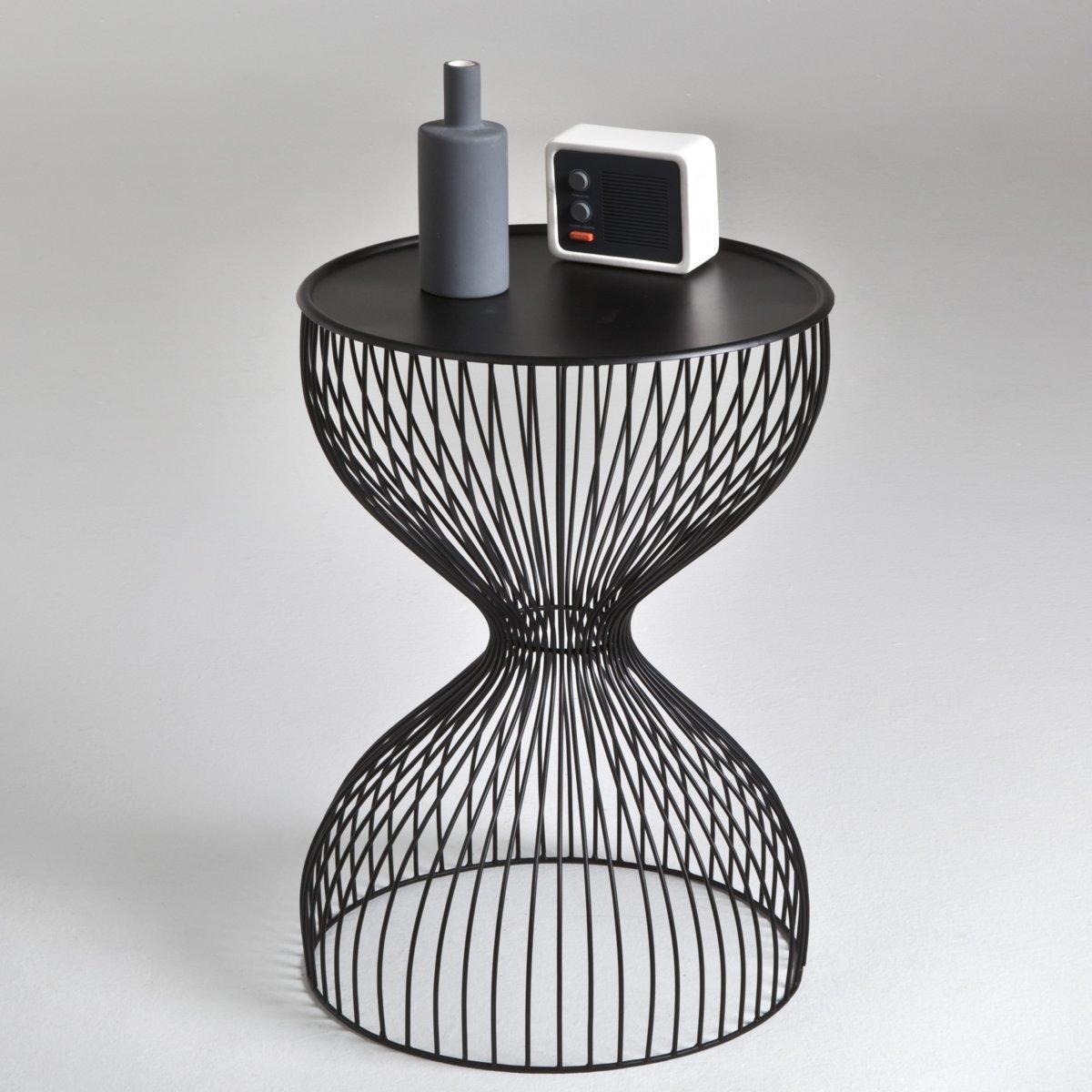Прикроватный столик из проволоки, JanikХарактеристики прикроватного столика из проволоки Janik :Металлическая проволока, покрытая лаком.Прикроватный столик Janik доставляется в собранном виде.Всю коллекцию Janik Вы найдете на сайте laredoute.ruРазмеры прикроватного столика из проволоки Janik :Диаметр : 35 см.Высота : 50 см..<br><br>Цвет: белый,золотистый,черный