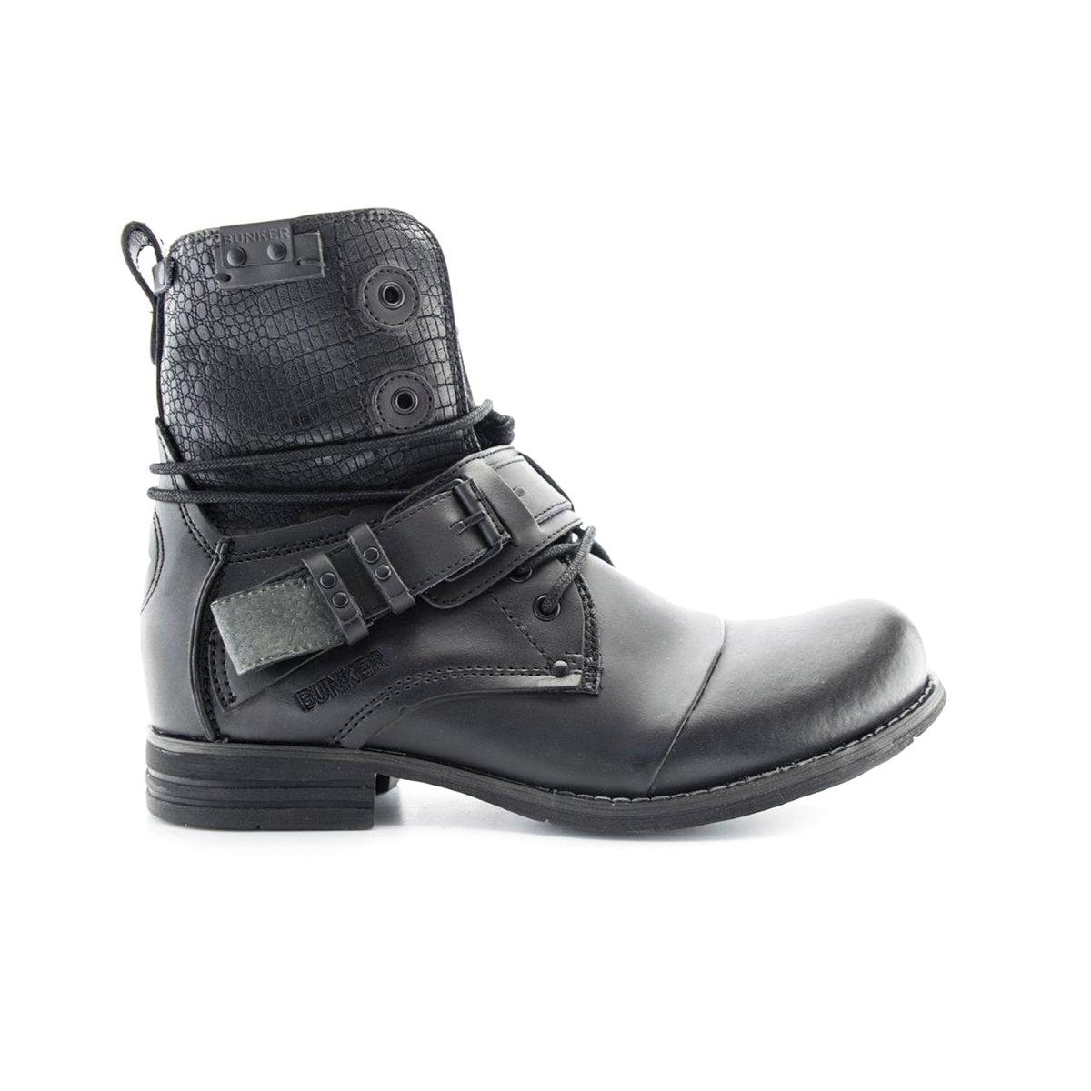Ботильоны кожаные SozoОписание:Детали  •  Высота каблука : 2,5 см •  Застежка : на молнию •  Круглый мысокСостав и уход  •  Верх 100% яловичная кожа •  Подкладка 100% текстиль •  Стелька 100% кожа •  Подошва 100% эластомер<br><br>Цвет: черный<br>Размер: 44