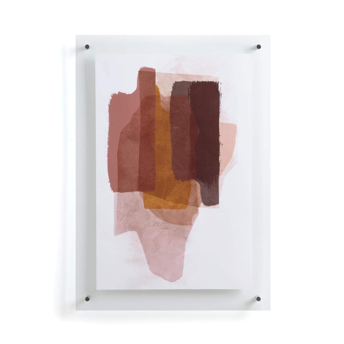 Постер La Redoute С эффектом красок Deepti единый размер разноцветный постер в раме венеция 40 x 50 см