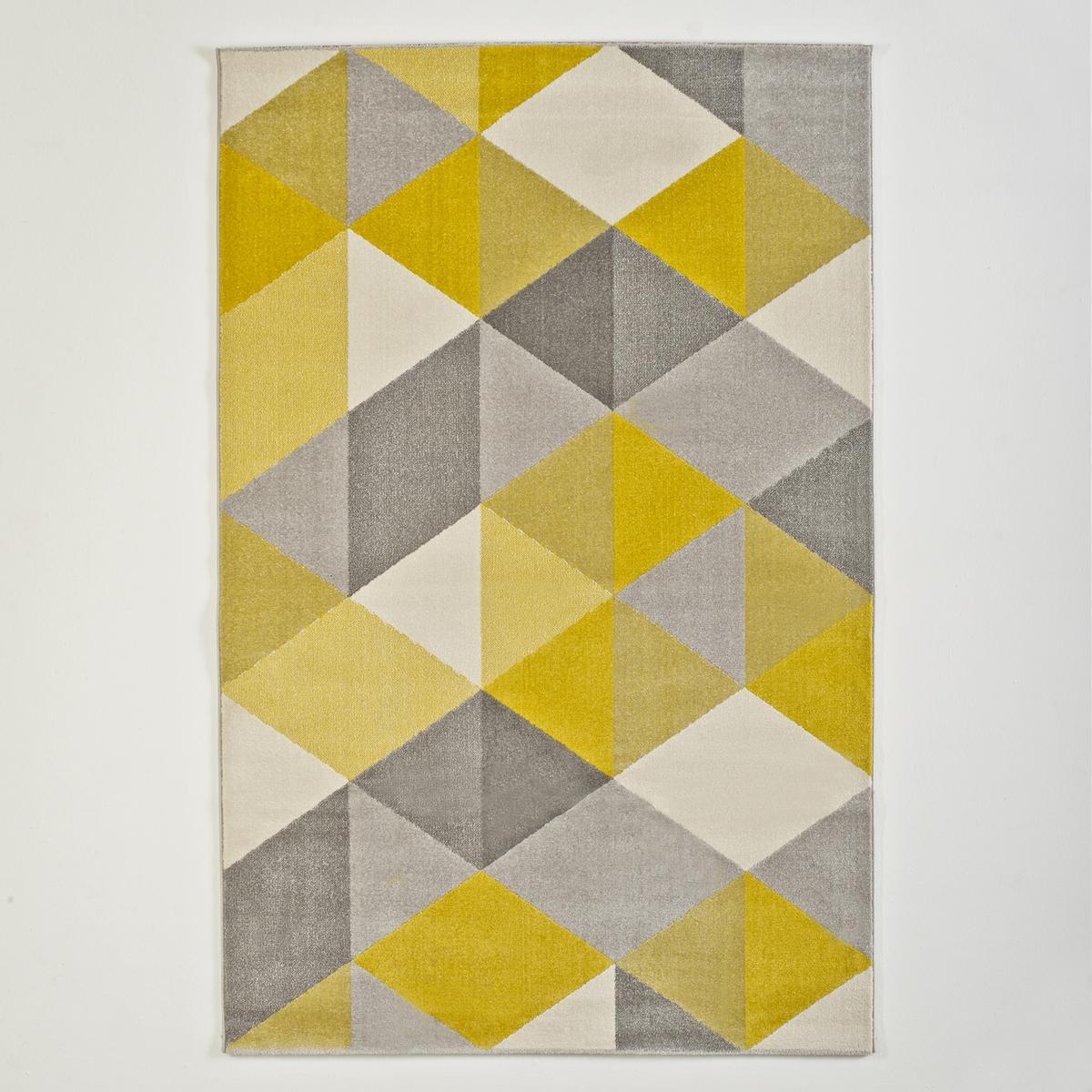 Ковер La Redoute Agasta 120 x 170 см желтый