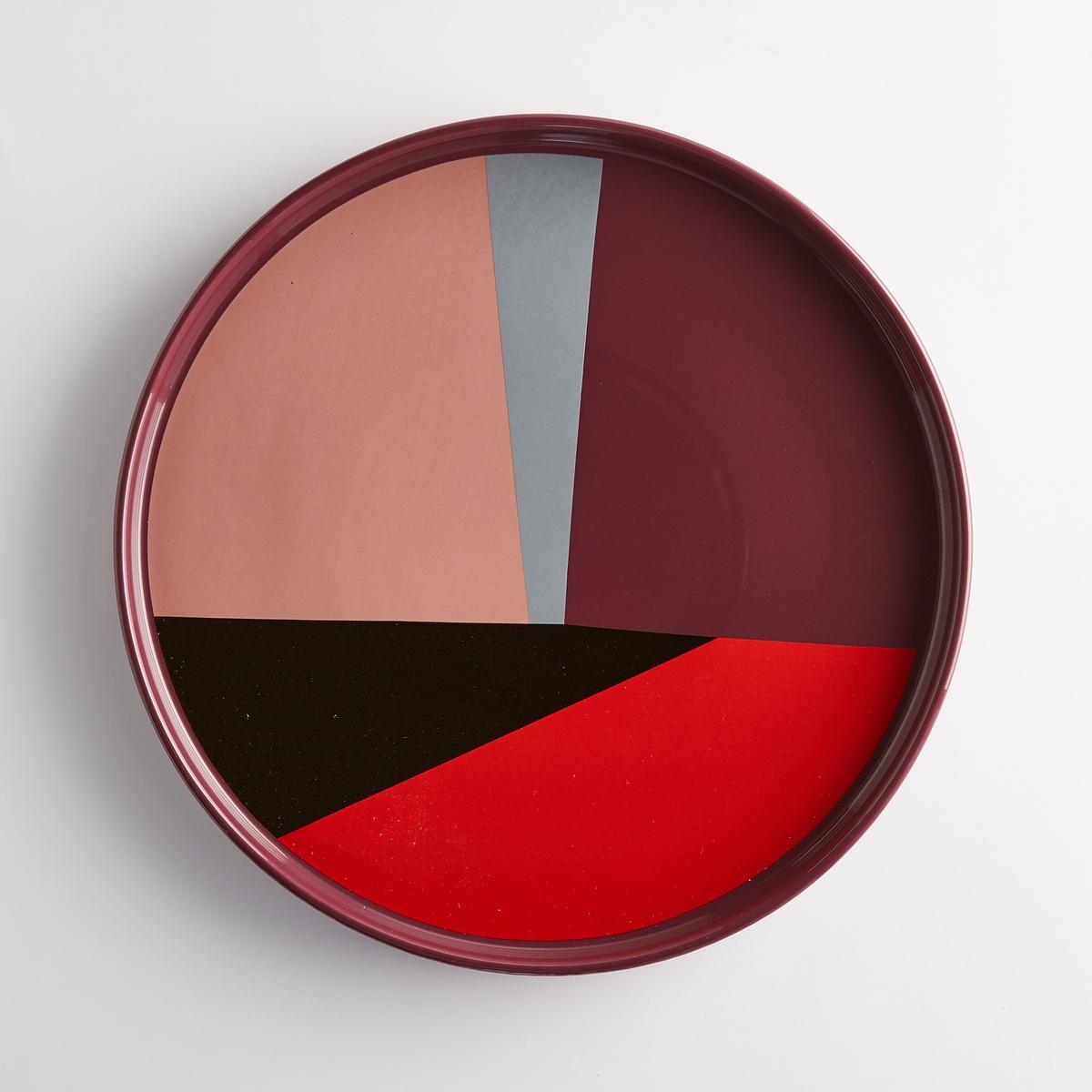Блюдо сервировочное разноцветное, из керамики DRISKOLХарактеристики сервировочного блюда Driskol :Из керамики.Геометрический рисунок.Размеры разноцветного сервировочного блюда Driskol :Диаметр. 30 см..Другие блюда и товары для кухни на сайте laredoute.ru<br><br>Цвет: разноцветный