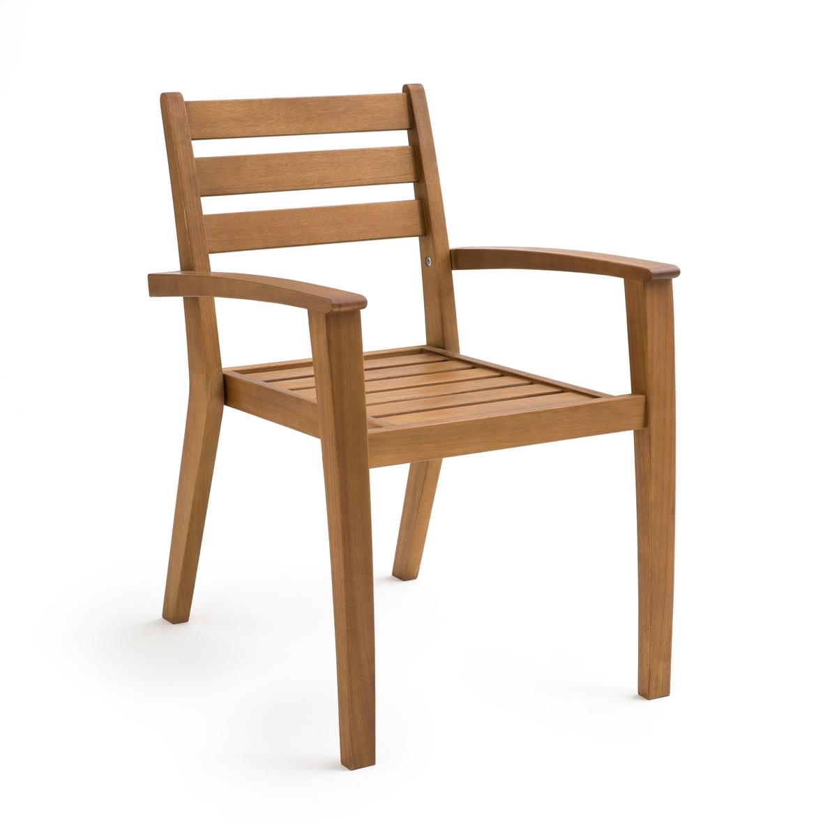 Кресло обеденное садовое из акации, Shayne