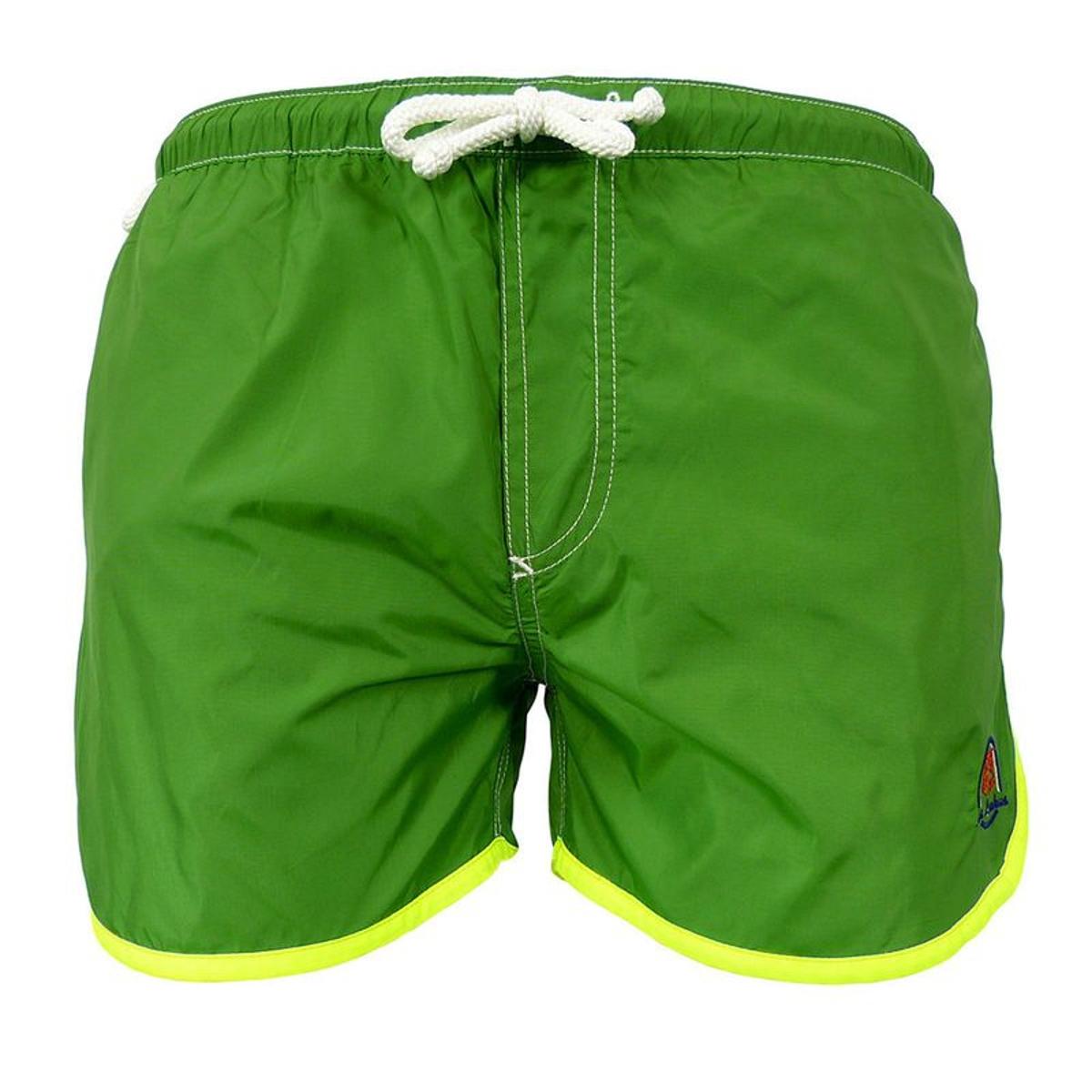 Maillot Short de bain homme Moréa sport - vert, gris, rouge ou bleu