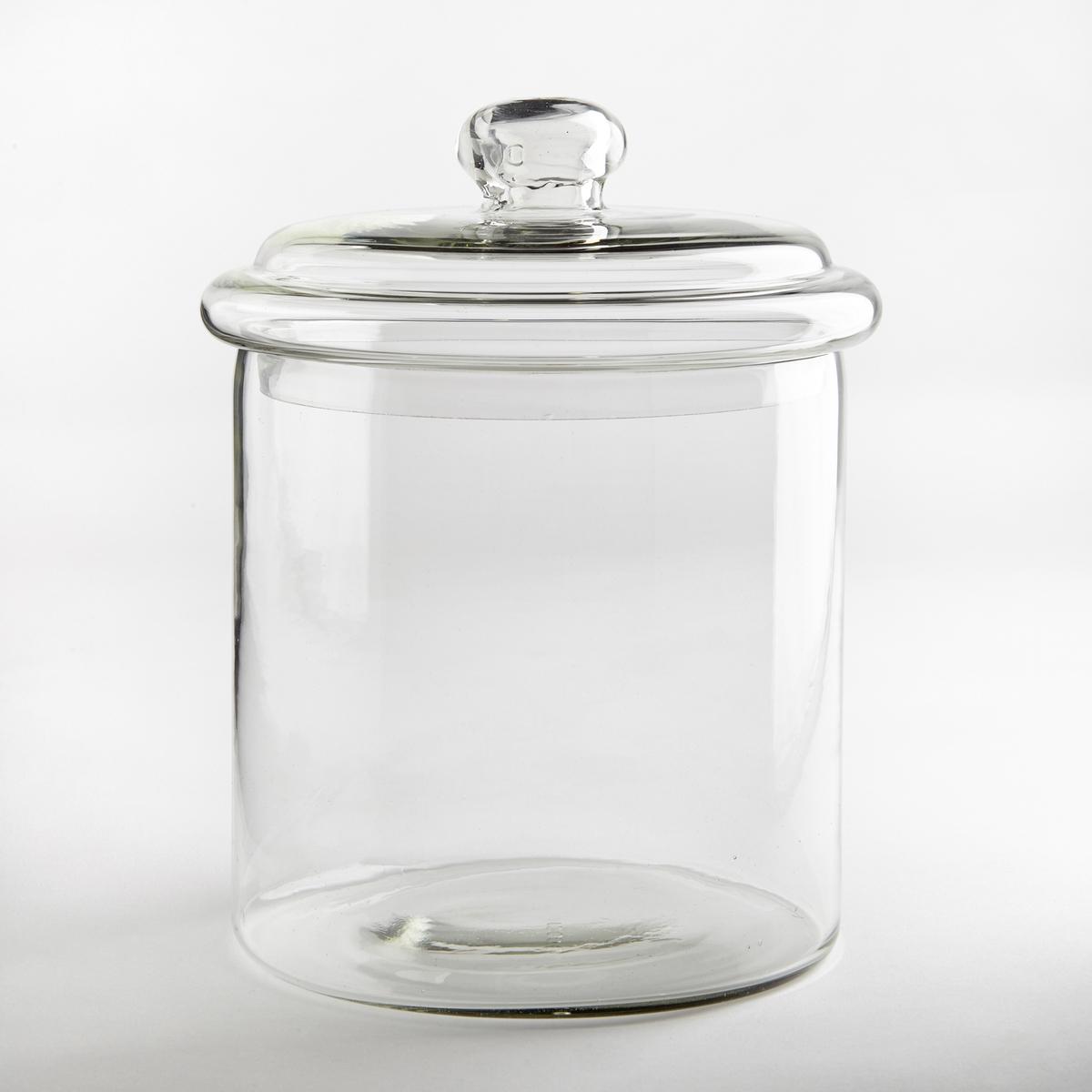 Contenitore in vetro con coperchio