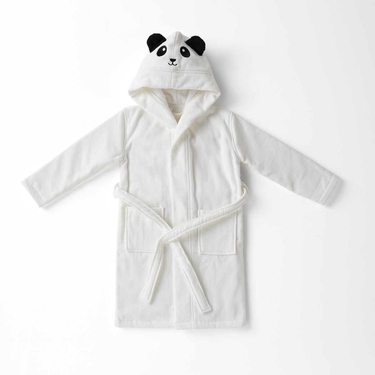 Пеньюар LaRedoute — Детский с капюшоном LO 1 год - 74 см белый