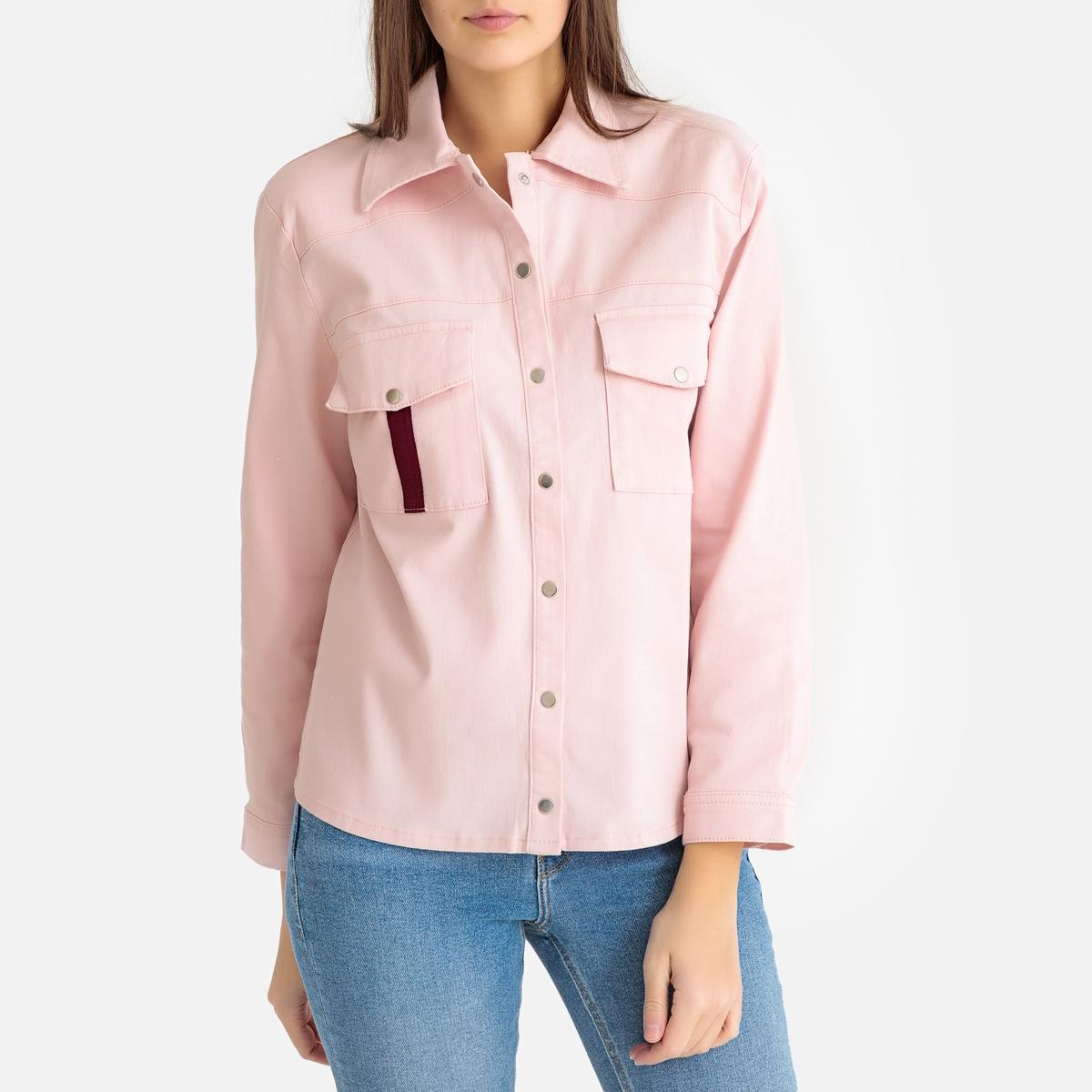 Рубашка-жакет La Redoute CAROLA M розовый жакет m