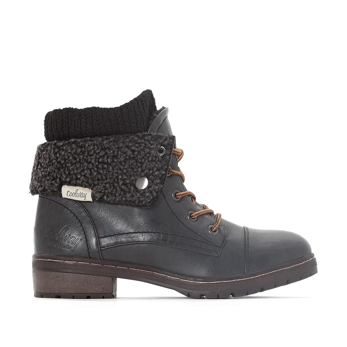 Ботинки на шнуровке Bring ботинки женские зимние на шнуровке без каблука купить