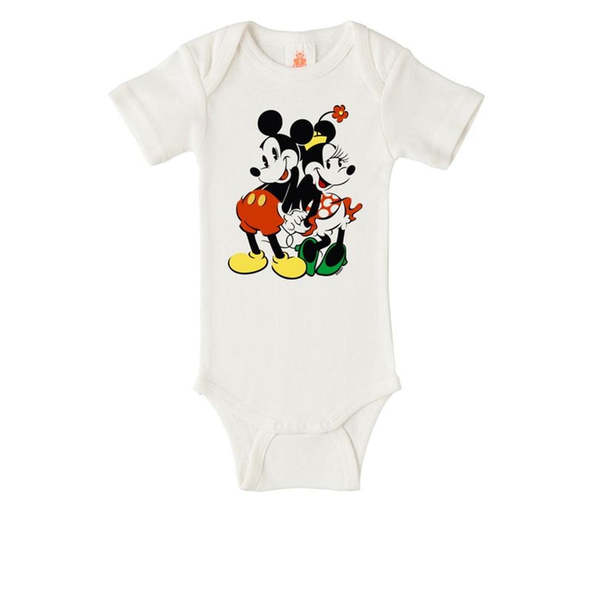Body bébé Mickey Mouse - Disney - Minnie & Mickey -  vieux blanc