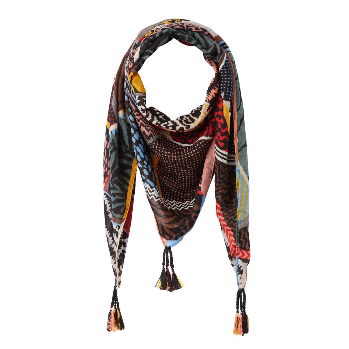 Платок с принтом икат yigal azrouel платок с принтом