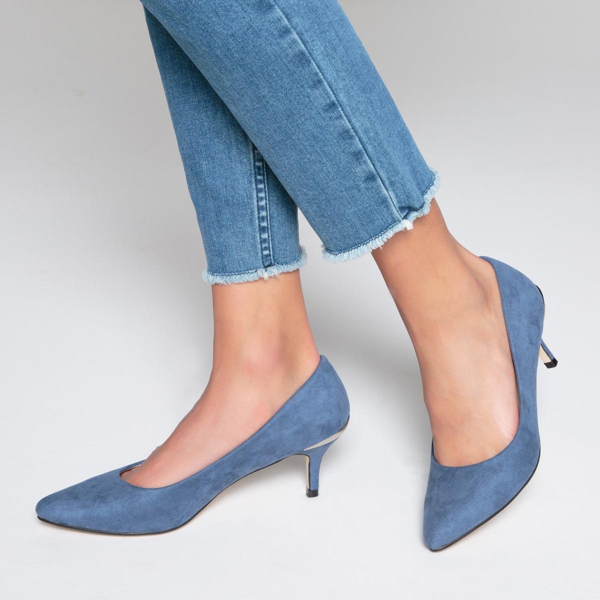 Туфли на каблуке kitten heel