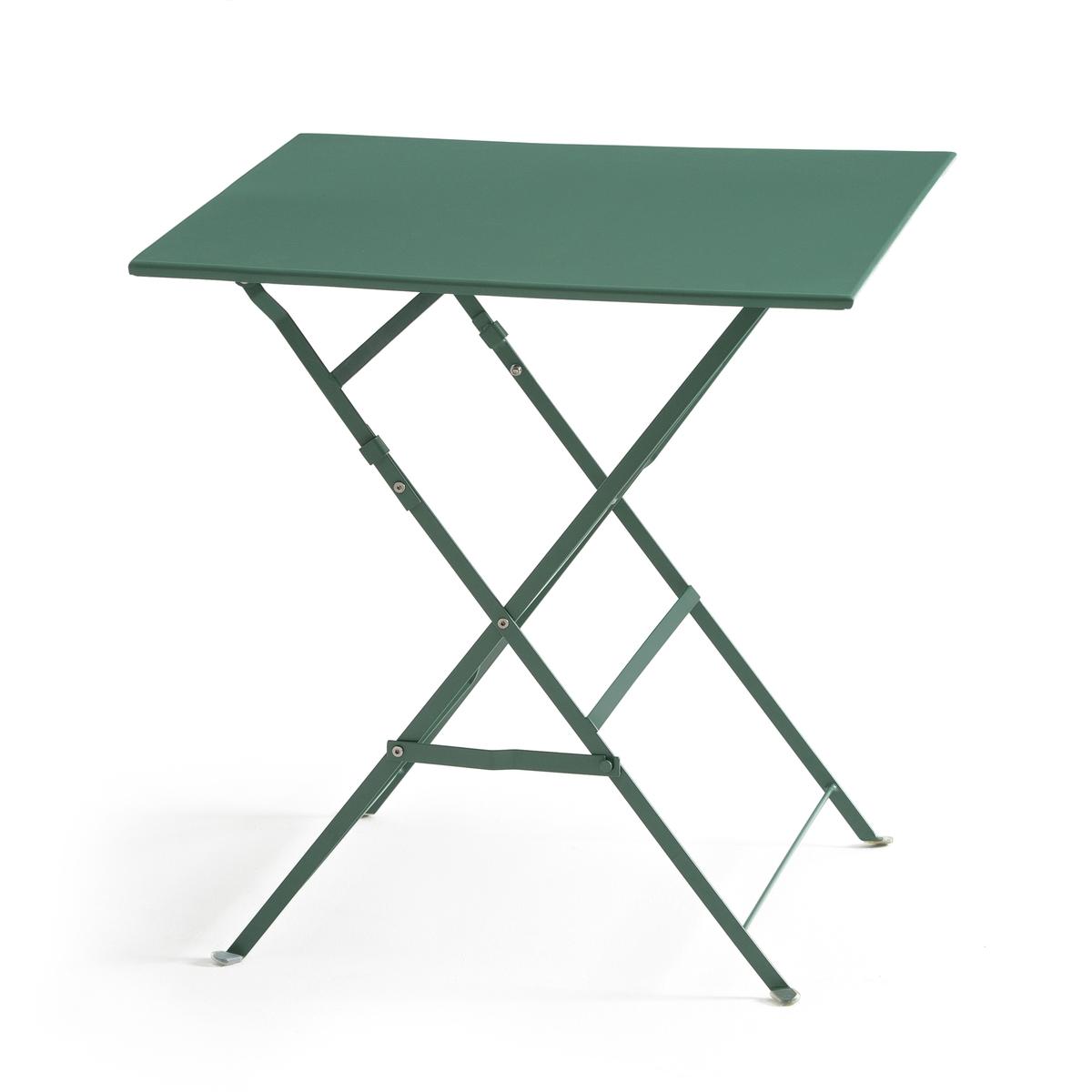 Стол складной квадратной формы из металла OZEVAN