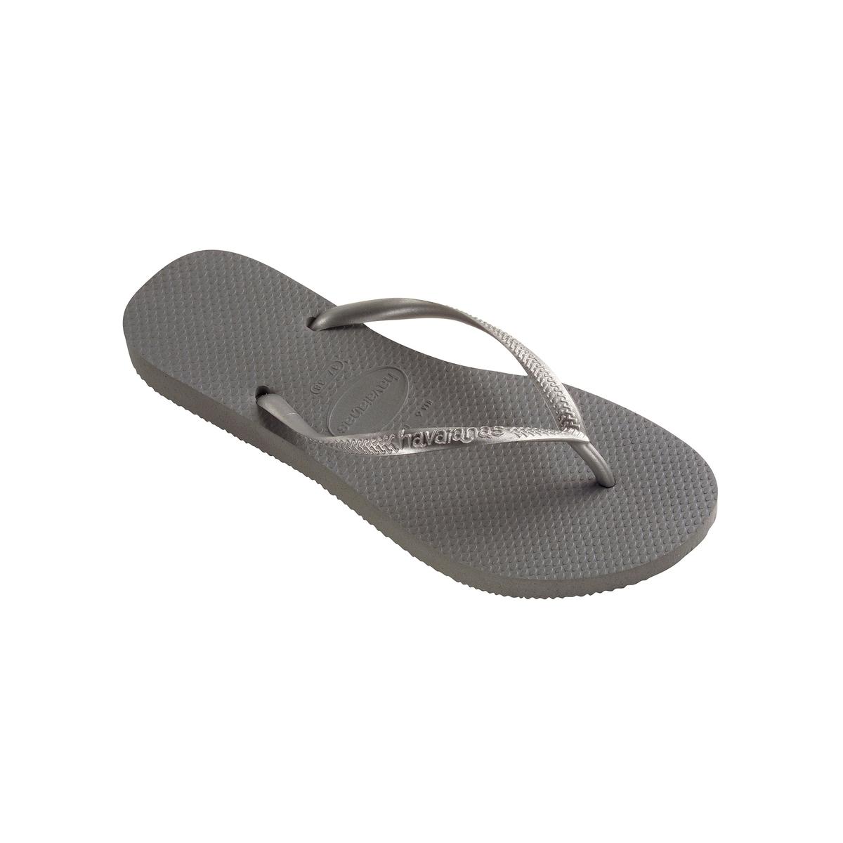 Вьетнамки SlimВерх : каучук   Стелька : каучук   Подошва : каучук   Высота каблука : плоский   Форма каблука : плоский каблук   Мысок : открытый мысок   Застежка : без застежки<br><br>Цвет: серый<br>Размер: 37/38