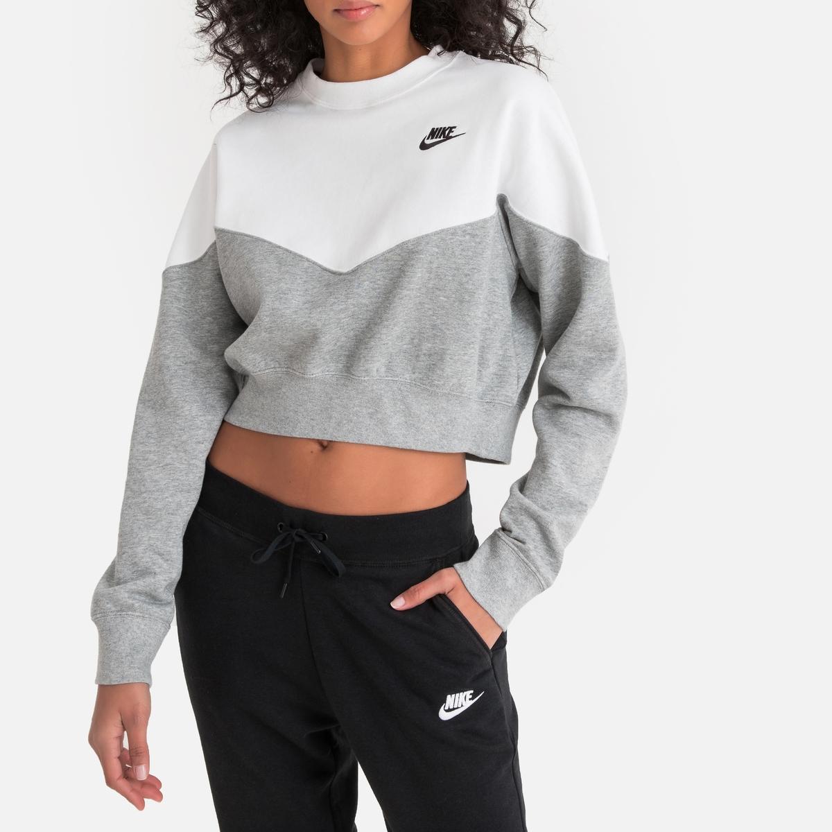 Imagen principal de producto de Sudadera bicolor, manga larga - Nike