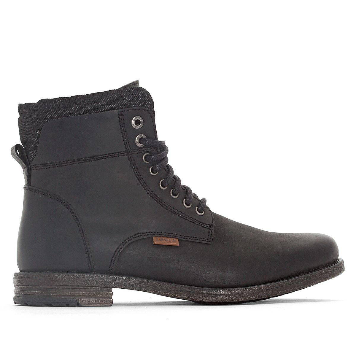 Boots cuir Emerson Collar
