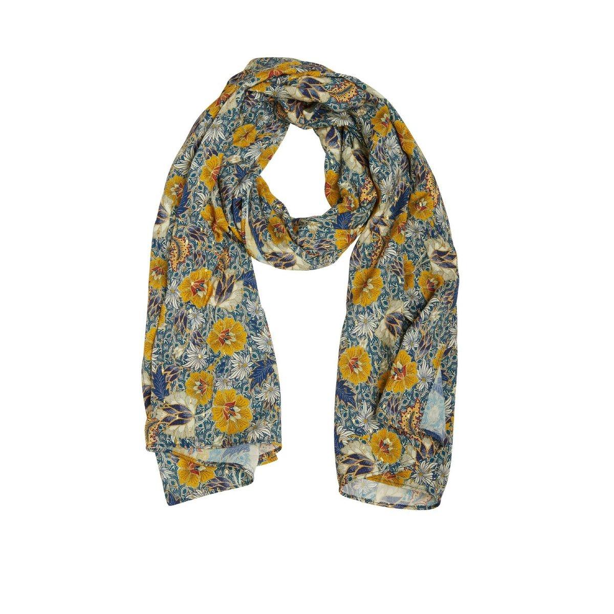 Foulard motif floral