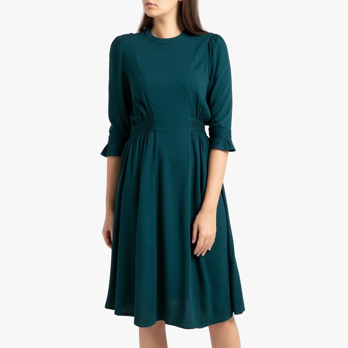 Платье La Redoute С рукавами NORA M зеленый