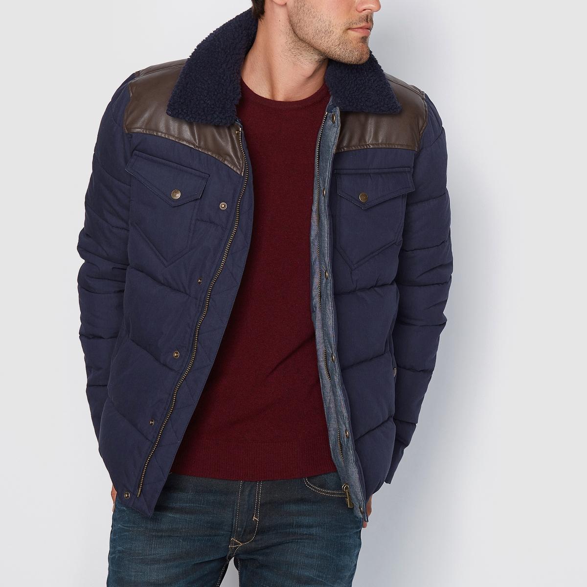 Стёгная куртка BookyСостав и описаниеМатериал: 50% хлопка, 50% полиэстера.Марка: KAPORAL<br><br>Цвет: темно-синий<br>Размер: XXL