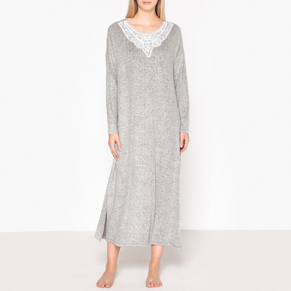 Camisa de dormir, detalhe em renda