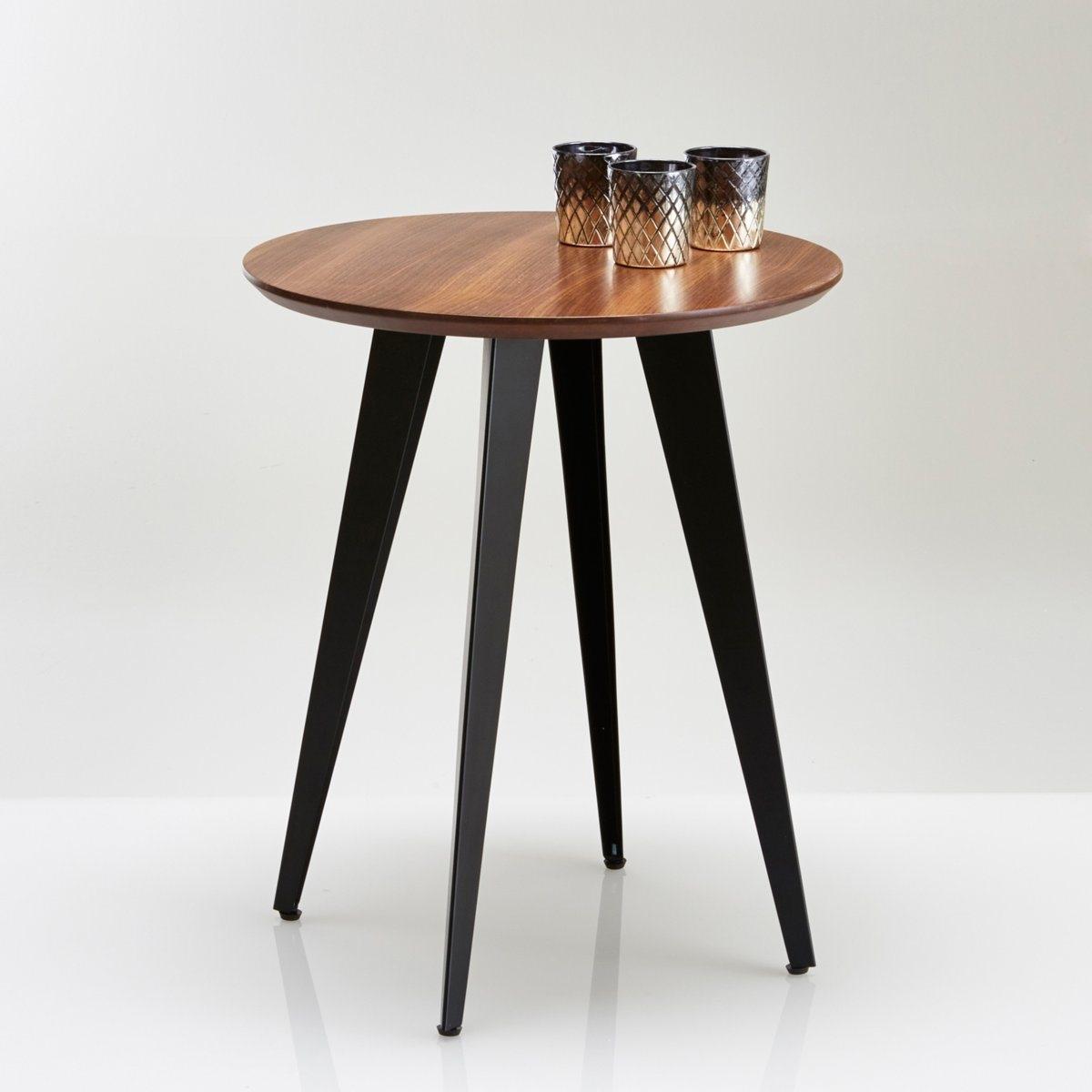 Круглый столик/столик для канапе в стиле винтаж   Watford от La Redoute