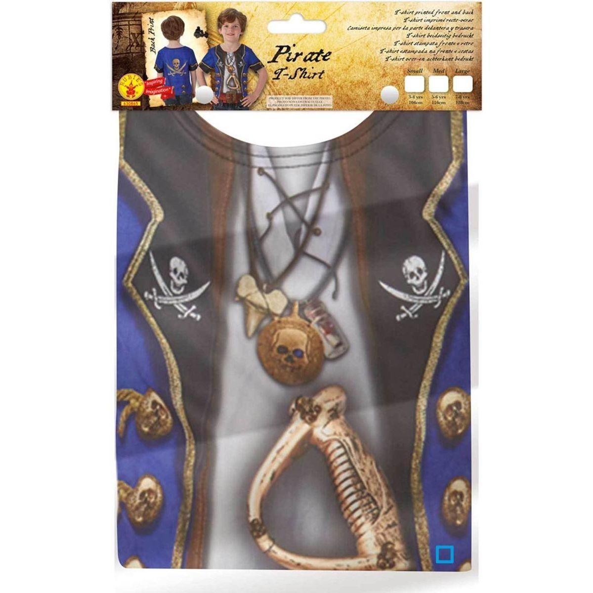 T-Shirt Sublimation Pirate Garçon - Taille M - RUBI-630865M