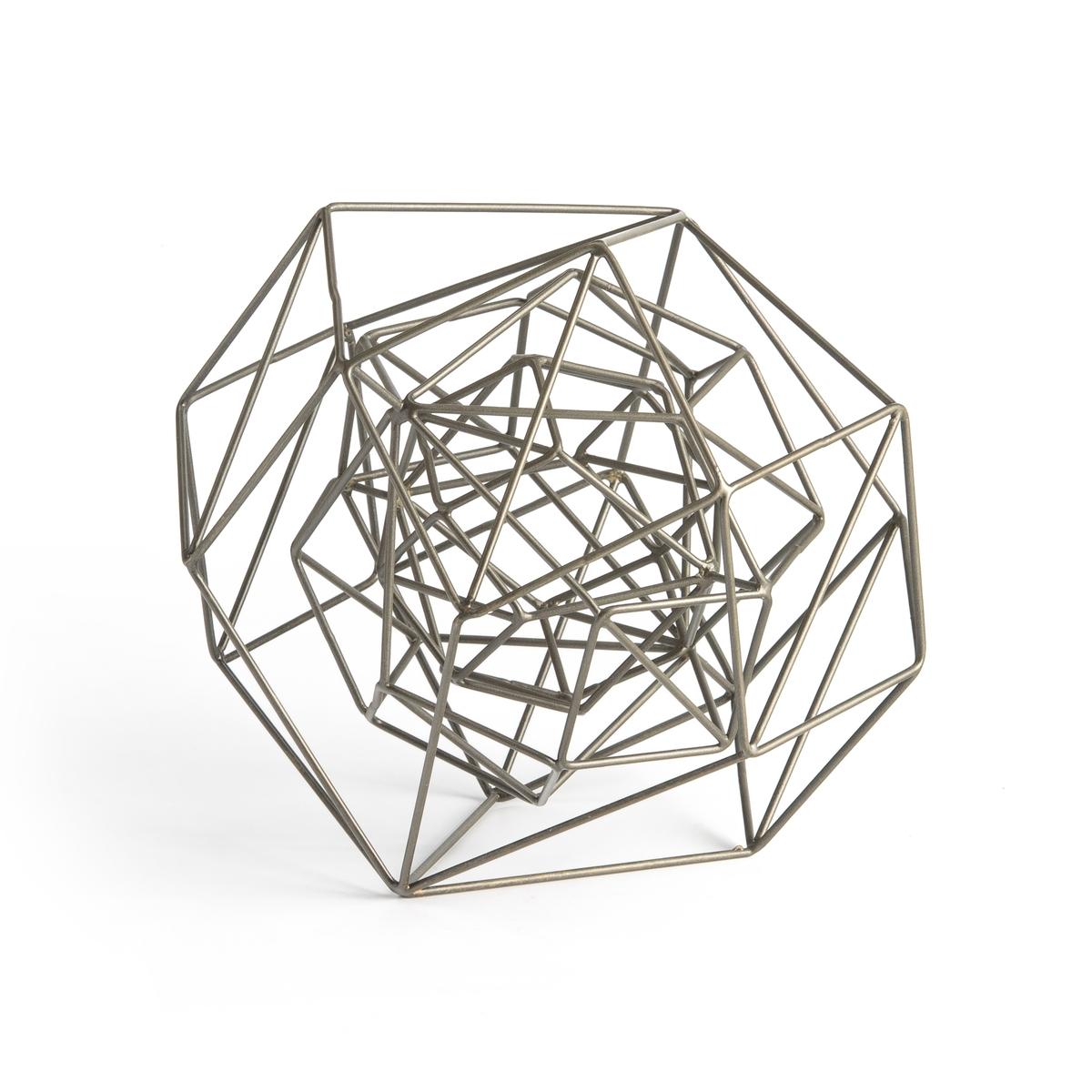 Предмет La Redoute Декора из металла Junon единый размер серый тумба la redoute металлическая полки janik единый размер белый