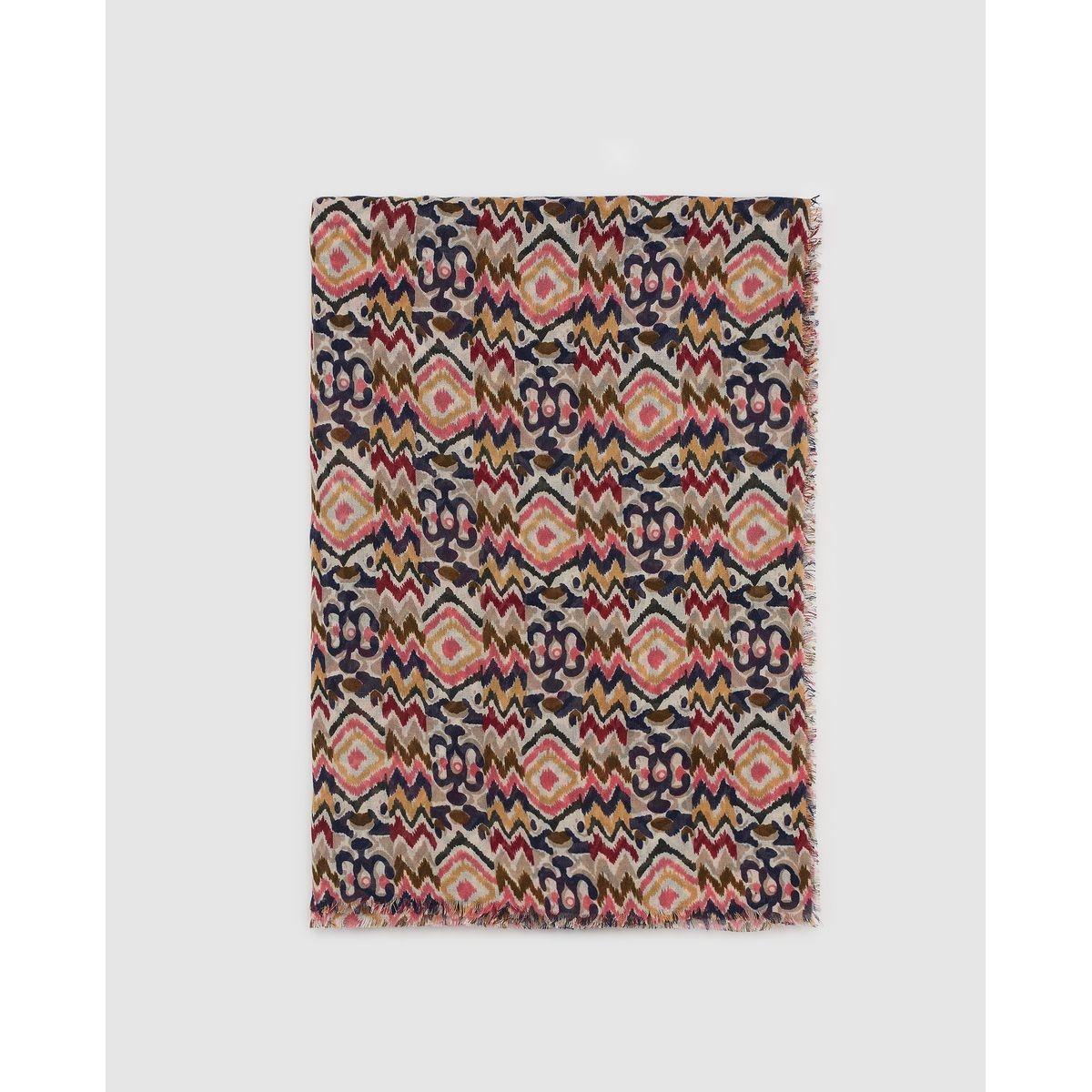 Foulard Southern Cotton à imprimé fantaisie