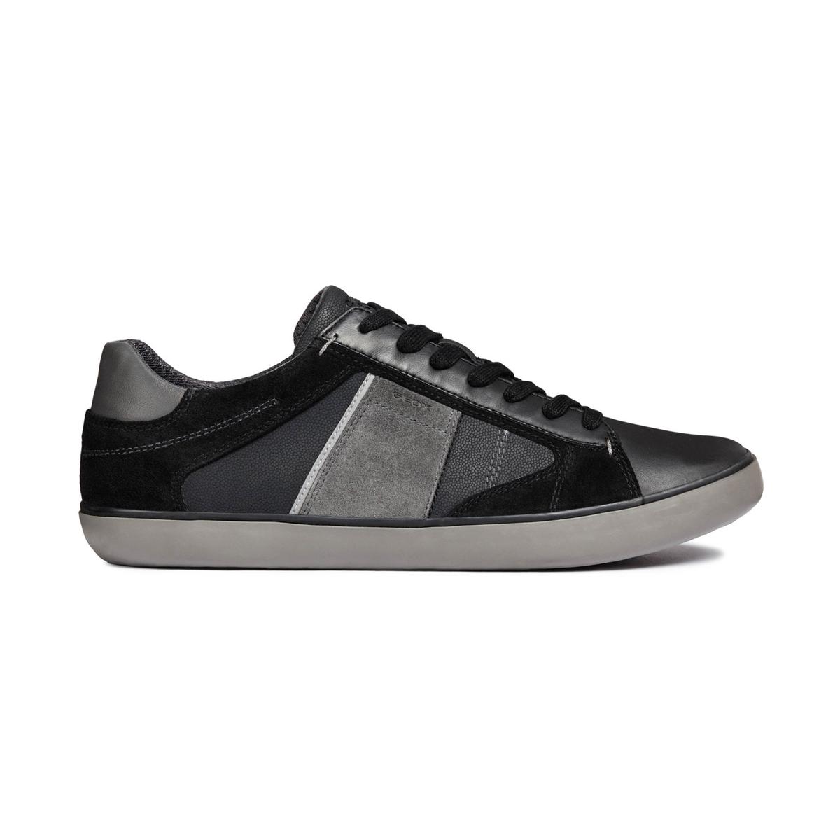 Zapatillas de caña alta U Box, piel