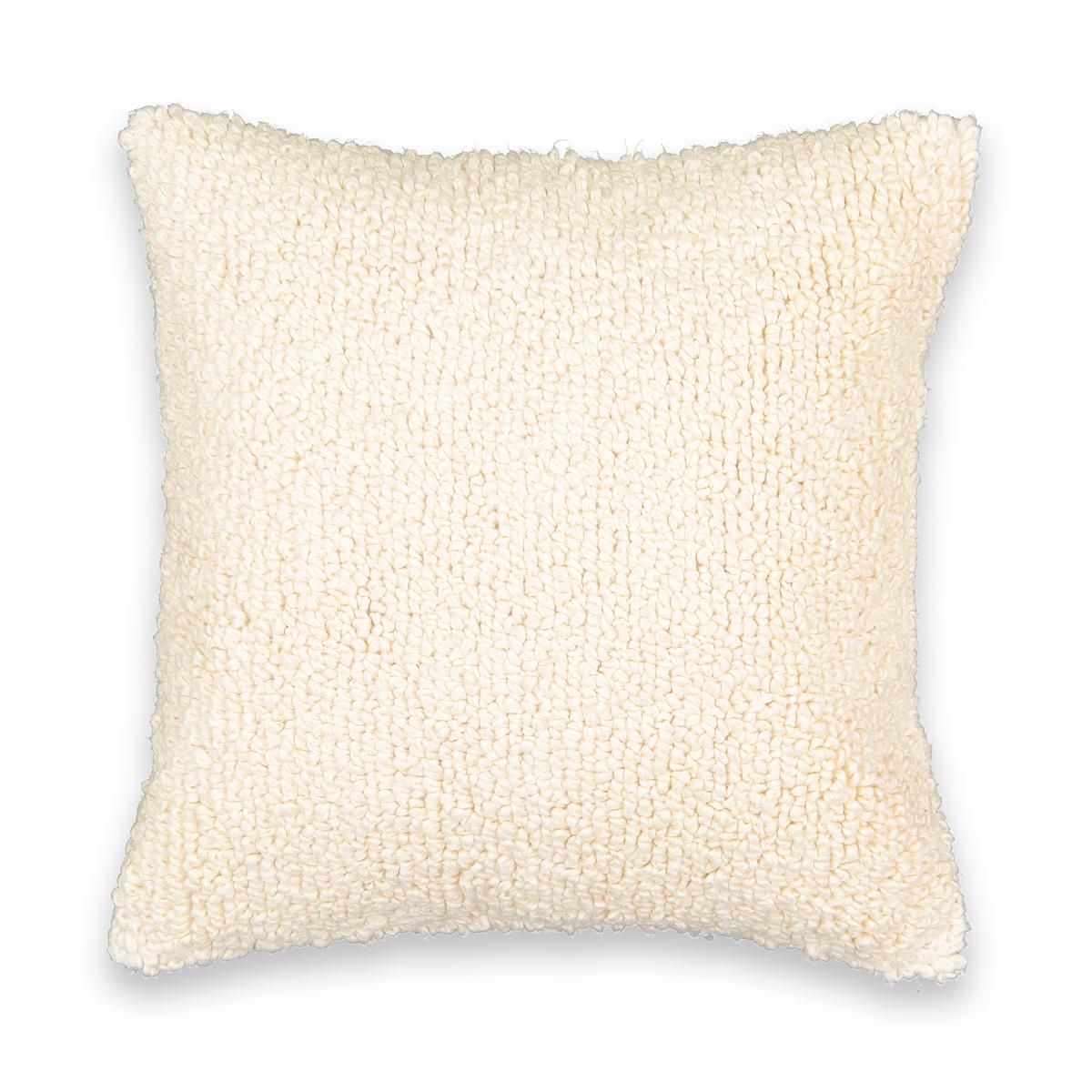 Чехол La Redoute На подушку с ворсом Virginia 45 x 45 см бежевый чехол la redoute для подушки eppaloc 45 x 45 см оранжевый