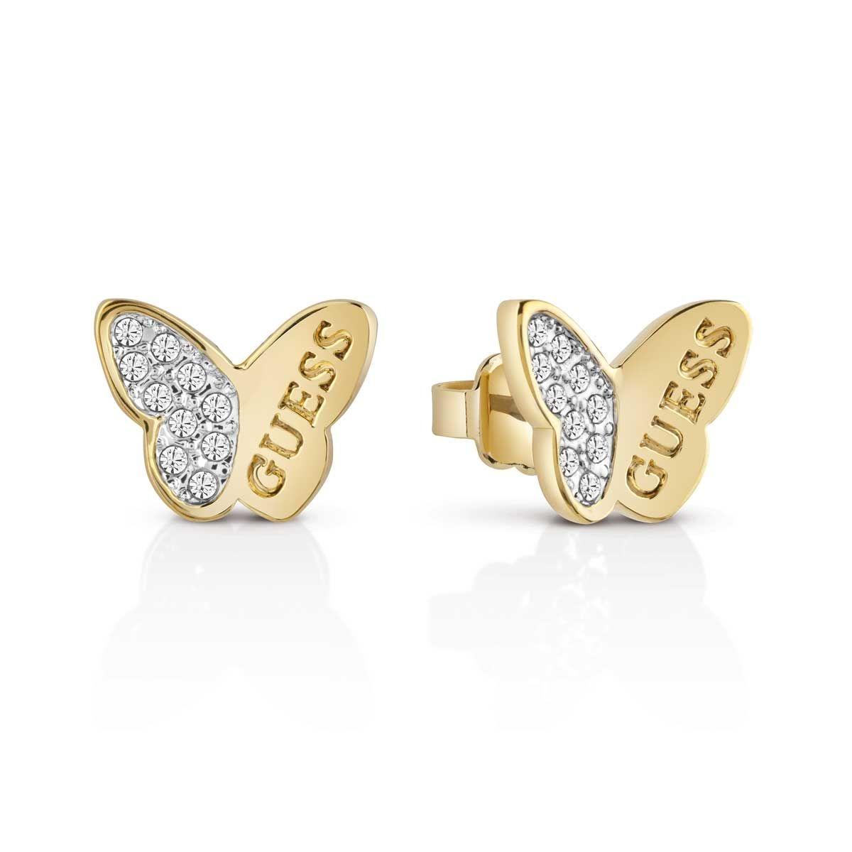 Boucles oreilles Métal Cristal