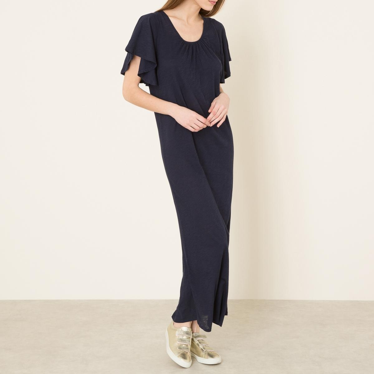 Платье CASABOСостав и описание    Материал : 100% хлопок   Марка : BA&amp;SH<br><br>Цвет: темно-синий