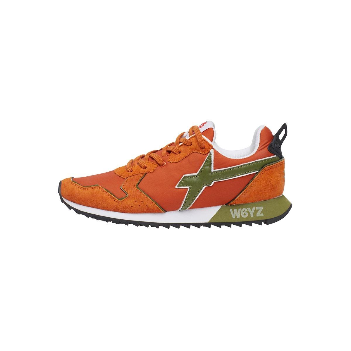 Sneakers en cuir et nylon JET-M.