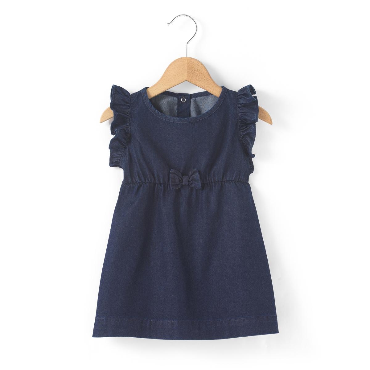 Платье из тонкого денима, 1 мес. - 3 года