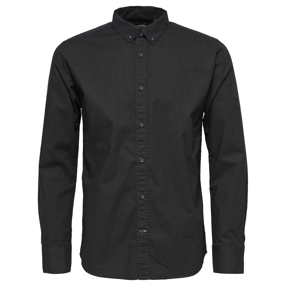 Рубашка из хлопка стрейч ONSALBIOL
