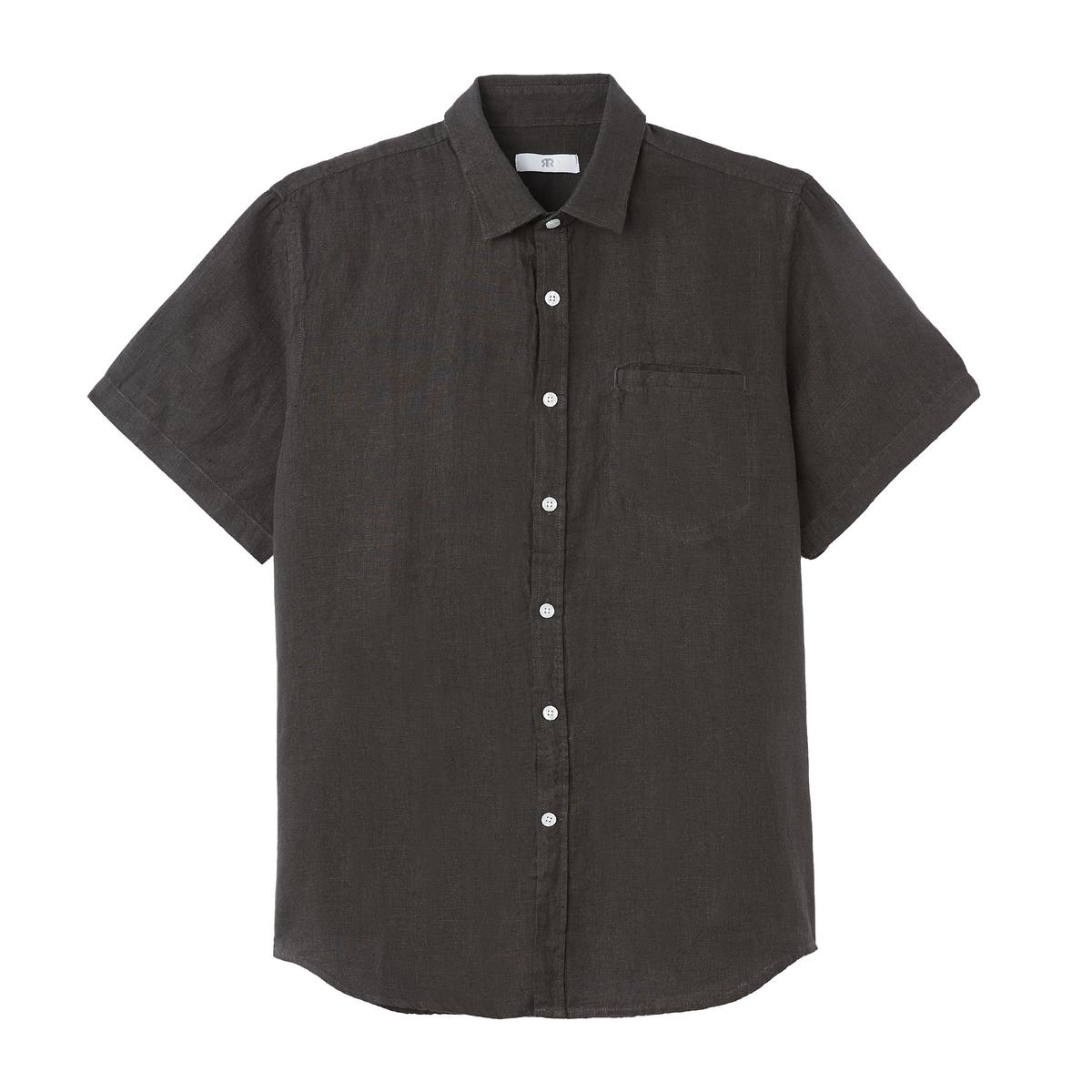 Camisa CLEMENT manga corta de lino