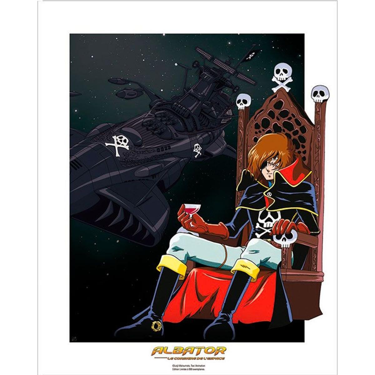 Poster Albator édition numérotée